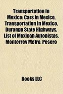 Transportation in Mexico: Cars in Mexico