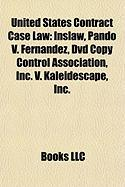 United States Contract Case Law: Inslaw