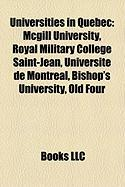 Universities in Quebec: McGill University