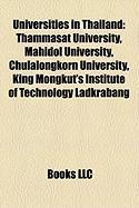 Universities in Thailand: Thammasat University