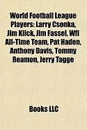 World Football League Players: Larry Csonka