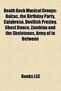 Death Rock Musical Groups: Balzac