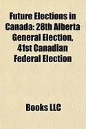 Future Elections in Canada: 28th Alberta General Election