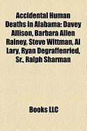 Accidental Human Deaths in Alabama: Davey Allison