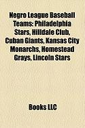 Negro League Baseball Teams: Philadelphia Stars