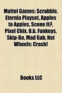 Mattel Games: Scrabble
