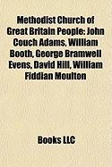 Methodist Church of Great Britain People: John Couch Adams