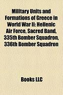 Military Units and Formations of Greece in World War II: Hellenic Air Force