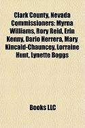 Clark County, Nevada Commissioners: Myrna Williams
