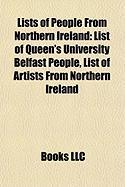 Lists of People from Northern Ireland: List of Queen's University Belfast People