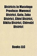 Districts in Masvingo Province: Mwenezi District
