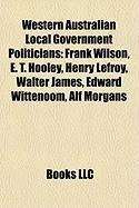 Western Australian Local Government Politicians: Frank Wilson