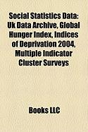 Social Statistics Data: UK Data Archive
