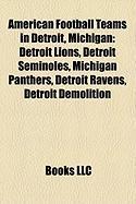 American Football Teams in Detroit, Michigan: Detroit Lions