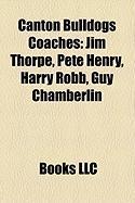 Canton Bulldogs Coaches: Jim Thorpe