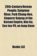 20th-Century Korean People: Park Chung-Hee