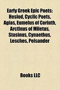 Early Greek Epic Poets: Hesiod