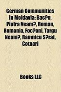 German Communities in Moldavia: Piatra Neam?