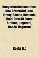 Hungarian Communities: New Brunswick, New Jersey