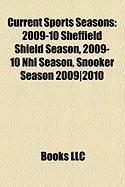 Current Sports Seasons: 2009-10 Sheffield Shield Season