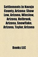 Settlements in Navajo County, Arizona: Winslow, Arizona