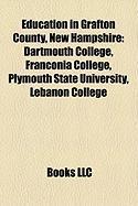 Education in Grafton County, New Hampshire: Dartmouth College