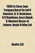 1969 in Case Law: Torquay Hotel Co Ltd V Cousins