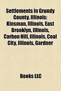 Settlements in Grundy County, Illinois: Morris, Illinois