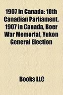 1907 in Canada: 10th Canadian Parliament
