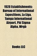 1928 Establishments: Tampa International Airport