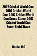 2007 Cricket World Cup: 2008 Giro D'Italia