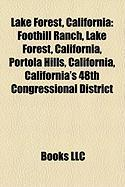 Lake Forest, California: Foothill Ranch, Lake Forest, California, Portola Hills, California, California's 48th Congressional District