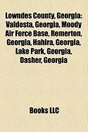 Lowndes County, Georgia: Valdosta, Georgia, Moody Air Force Base, Remerton, Georgia, Hahira, Georgia, Lake Park, Georgia, Dasher, Georgia