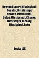 Newton County, Mississippi: Decatur, Mississippi, Newton, Mississippi, Union, Mississippi, Chunky, Mississippi, Hickory, Mississippi, Lake