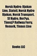 Norsk Hydro: Rjukan Line, Statoil, Norsk Hydro Rjukan, Norsk Transport, SF Hydro, Heroya, Tinnsjo Railway Ferry, Vemork, Tinnos Lin