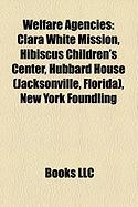 Welfare Agencies: Clara White Mission, Hibiscus Children's Center, Hubbard House (Jacksonville, Florida), New York Foundling