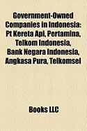 Government-Owned Companies in Indonesia: PT Kereta API, Pertamina, Telkom Indonesia, Bank Negara Indonesia, Angkasa Pura, Telkomsel