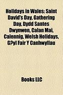 Holidays in Wales: Saint David's Day, Gathering Day, Dydd Santes Dwynwen, Calan Mai, Calennig, Welsh Holidays, G?yl Fair y Canhwyllau