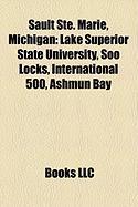 Sault Ste. Marie, Michigan: Lake Superior State University, Soo Locks, International 500, Ashmun Bay