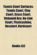Tennis Court Surfaces: Tennis Court, Clay Court, Grass Court, Rebound Ace, No-Line Court, Plexicushion, Decoturf, Hardcourt