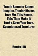 Tracie Spencer Songs: Imagine, Tender Kisses, Love Me, This House, This Time Make It Funky, Save Your Love, Symptoms of True Love