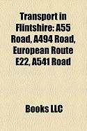 Transport in Flintshire: A55 Road, A494 Road, European Route E22, A541 Road