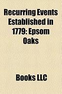 Recurring Events Established in 1779: Epsom Oaks