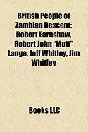 British People of Zambian Descent: Robert Earnshaw, Robert John