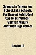 Schools in Turkey: Koc School, Enka Schools, Ted Kayseri Koleji, Ozel Cag Lisesi Schools, Samsun Ataturk Anatolian High School