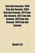 Can-Am Seasons: 1970 Can-Am Season, 1969 Can-Am Season, 1971 Can-Am Season, 1972 Can-Am Season, 1973 Can-Am Season, 1974 Can-Am Season