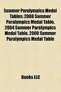 Summer Paralympics Medal Tables: 2008 Summer Paralympics Medal Table, 2004 Summer Paralympics Medal Table, 2000 Summer Paralympics Medal Table