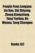 People from Longyan: Lin Dan, Shi Zhiyong, Zhang Xiangxiang, Yang Yuehua, He Wenna, Yang Chengwu