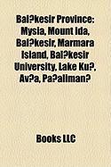 Bal?kesir Province: Mysia, Mount Ida, Bal?kesir, Marmara Island, Bal?kesir University, Lake Ku?, AV?A, Pa?aliman?