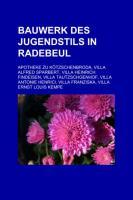 Bauwerk Des Jugendstils in Radebeul